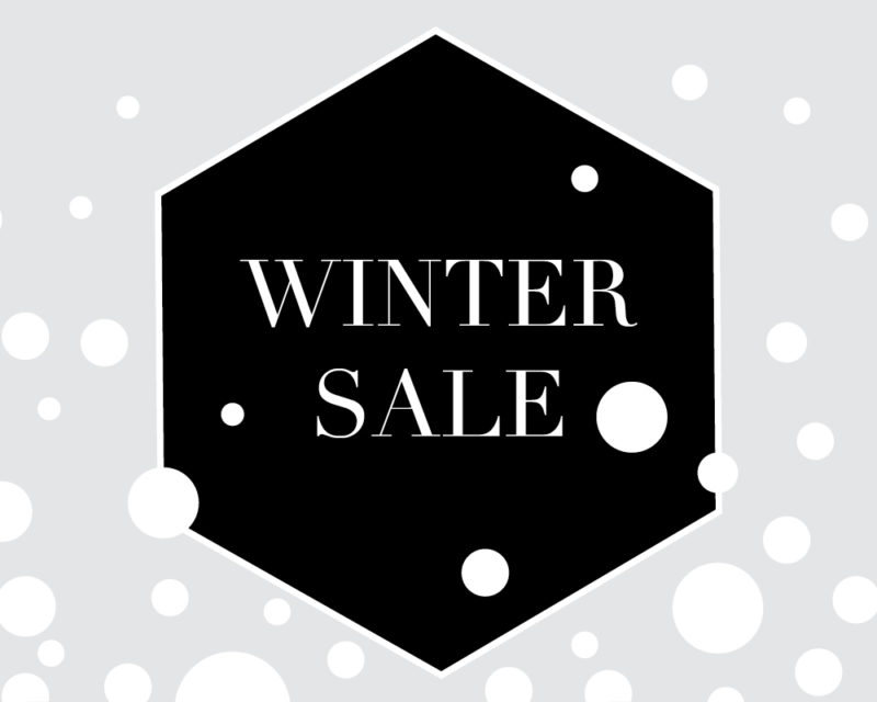 Wintersale Grafik