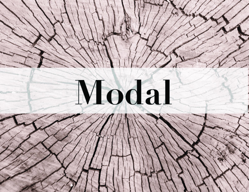 Modal – Material details