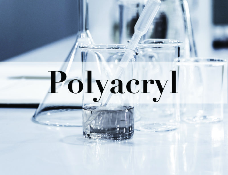 Polyacryl – Material details